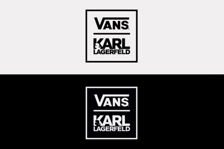 KARL LAGERFELD X VANS THE BLUP