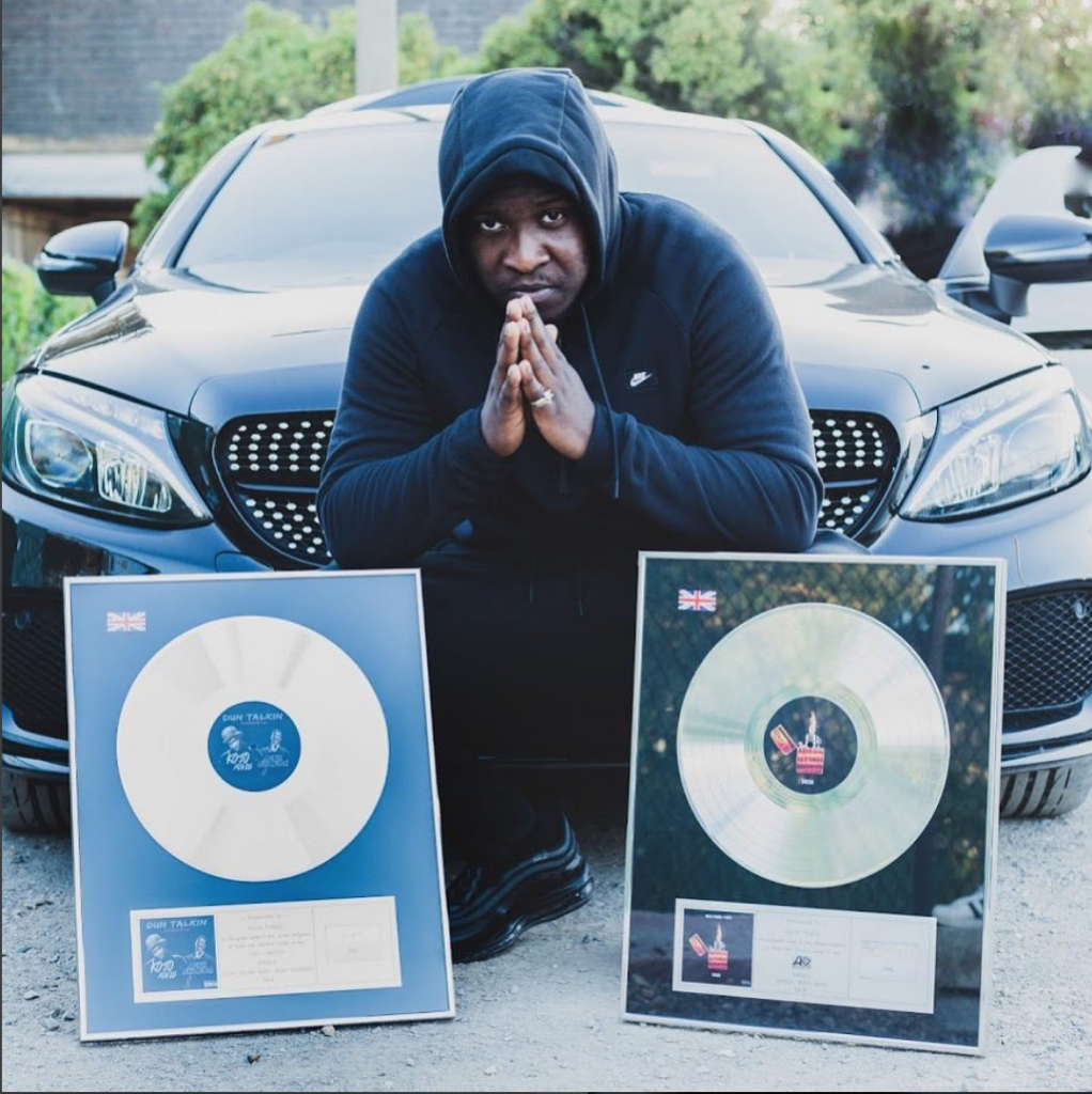 KOJO FUNDS - SILVER PLAQUES THE BLUP