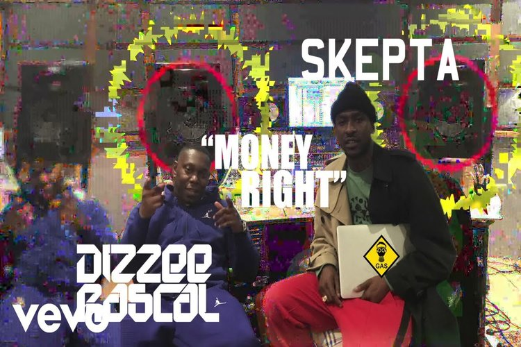 DIZZEE RASCAL & SKEPTA COLLAB THE BLUP