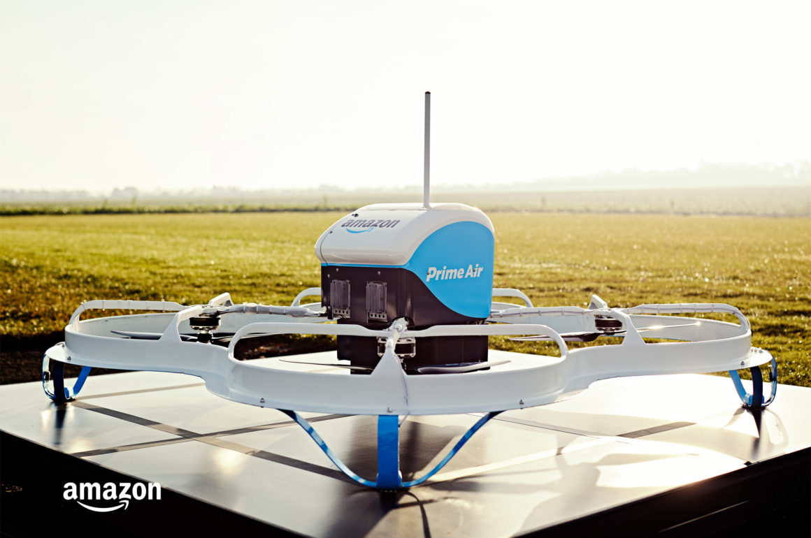 AMAZON PRIME AIR: DRONE DELIVERIES THE BLUP