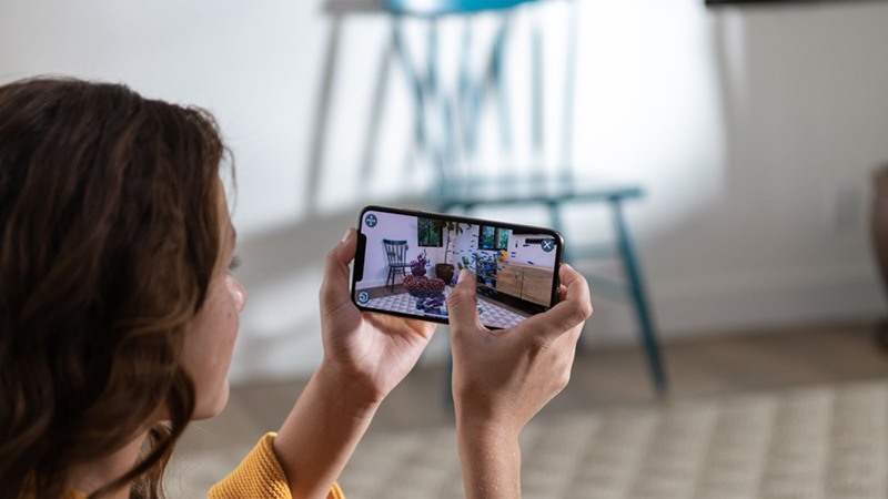 APPLE'S MOVE TO SHOPPING IN AUGMENTED REALITY THE BLUP