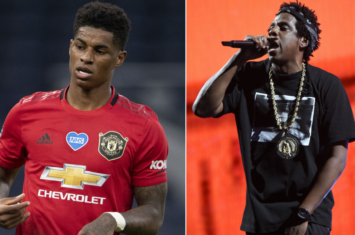 MARCUS RASHFORD SIGNS WITH JAY-Z THE BLUP