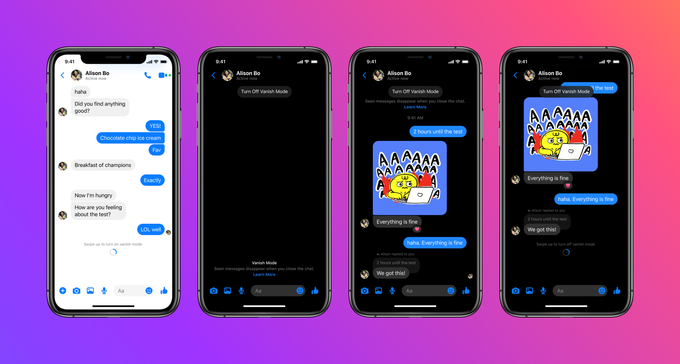 WATCH YOUR DM'S EVAPORATE WITH FACEBOOK'S VANISH MODE THE BLUP