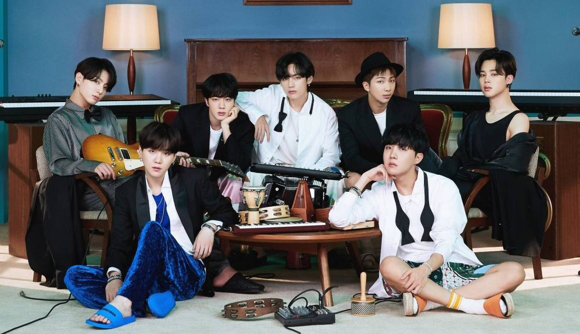 BTS NEW ALBUM IS HERE THE BLUP