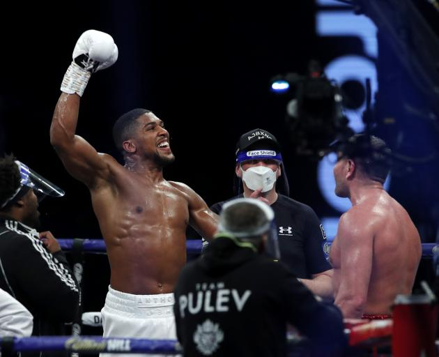 ANTHONY JOSHUA REMAINS THE WORLD HEAVYWEIGHT CHAMPION THE BLUP