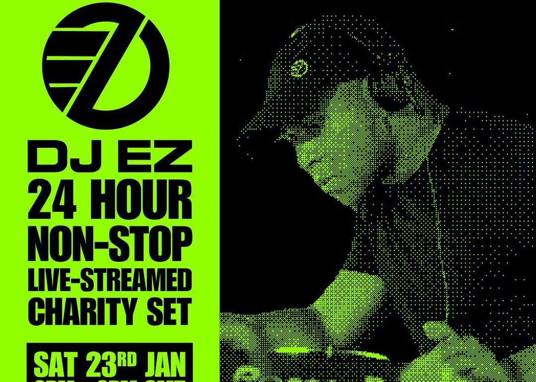 DJ EZ 24 HOUR LIVE STREAM SET FOR MIND CHARITY THE BLUP