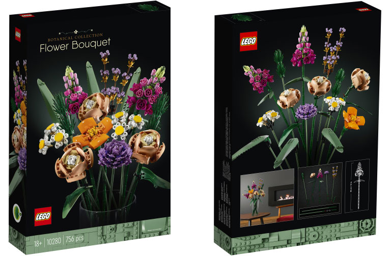 LEGO'S EVERLASTING FLOWERS THE BLUP