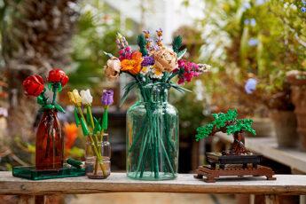lego botanical flower bouquet